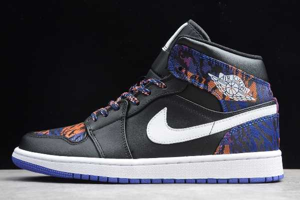AV5174-005 Mens and WMNS Air Jordan 1 Mid Tiger Print For Sale