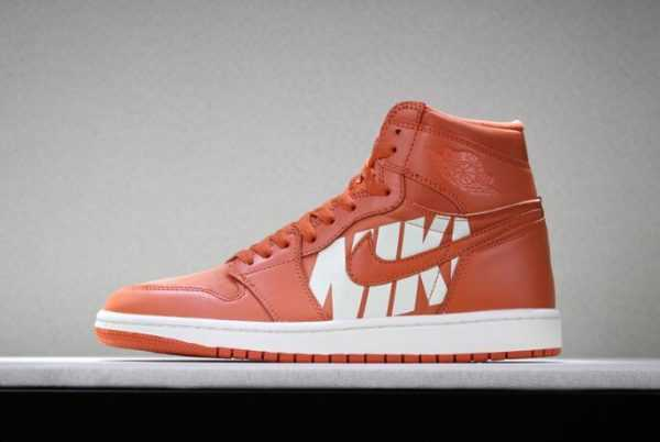 "Air Jordan 1 High OG ""Nike Air"" Vintage Coral/Sail 555088-800"