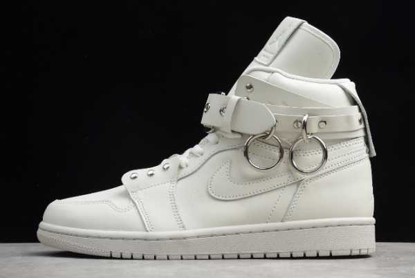 CN5738-100 Mens and WMNS Comme Des Garçons Homme Plus x Air Jordan 1 White For Sale