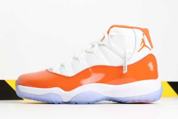 2019 Mens Air Jordan 11 ' lorida' Orange/White in Stores