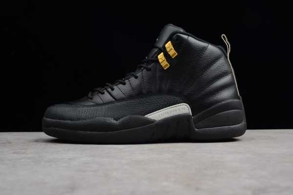 "Air Jordan 12 ""The Master"" Black/Rattan-White-Metallic Gold 130690-013"