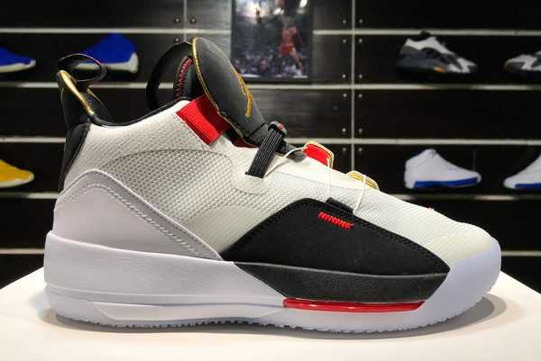 New Air Jordan XXXIII PF Future Flight White Black BV5072-100 Hot Sale