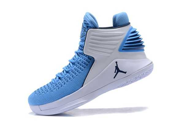 "New Air Jordan 32 ""UNC Tar Heels"" PE Men' s Basketball Shoes"