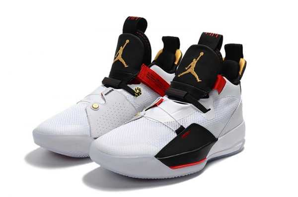 2018 Air Jordan 33 ' uture of Flight' White/Metallic Gold AQ8830-100