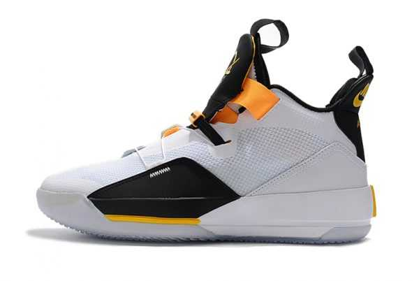 Air Jordan 33 ' ladipo PE' White/Black-Yellow On Sale