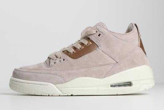 "2018 Women' s Air Jordan 3 Retro ""Particle Beige"" AH7859-205"